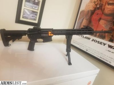 For Sale/Trade: Anderson AR-15 - New, only 120 Rounds fired