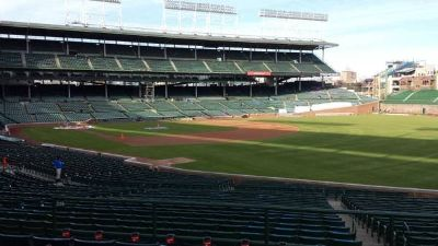 2 Tickets Chicago Cubs Lower Level Terrace Reserved Outfield