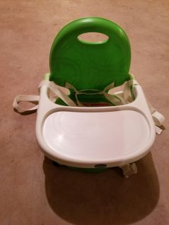 Toddler booster seat, portable
