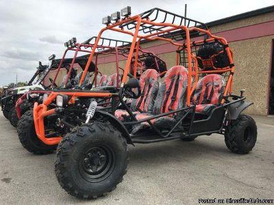 200cc full size 4 seater go kart