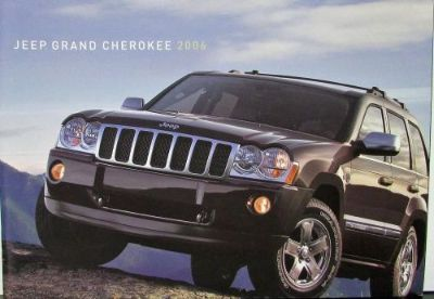 Find 2006 Jeep Grand Cherokee Overland Limited Laredo SRT8 Original Sales Brochure motorcycle in Holts Summit, Missouri, United States, for US $17.06