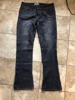 EUC gray bootcut denim jeans
