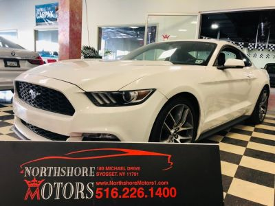 2016 Ford Mustang 2dr Fastback EcoBoost Premium (Oxford White)