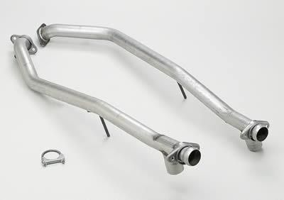 "Purchase BBK CNC Series Off-Road Race H-Pipe 2.5"" For Use w/ Shorty Headers 1565 Mustang motorcycle in Tallmadge, OH, US, for US $209.99"