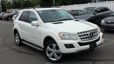 2009 Mercedes-Benz M-Class ML350 (White)