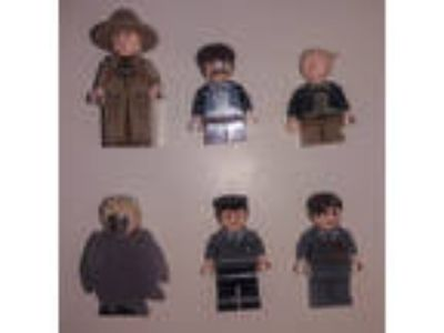 Lego Harry Potter Minifigure Lot 4842 4766 Sprout Flitwick
