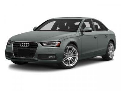 2014 Audi A4 2.0T quattro Premium Plus (Monsoon Gray Metallic)