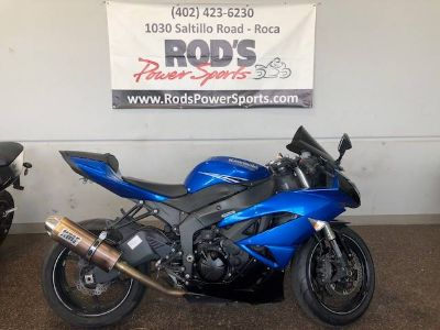 2011 Kawasaki Ninja ZX -6R SuperSport Motorcycles Roca, NE