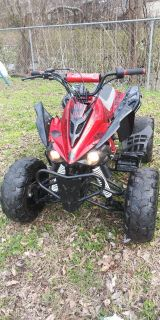 Youth atv 125cc with reverse