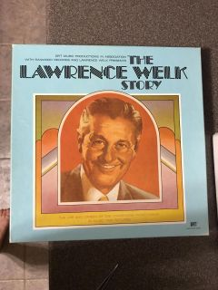 Lawrence Welk set. Collection of records. Shows 1974. Excellent condition!