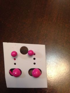 Post earrings for two holes. SwAp only