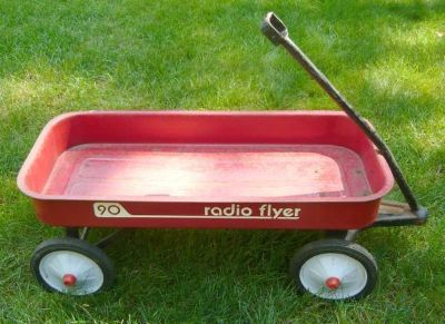 Vintage Radio Flyer Model 90 Wagon