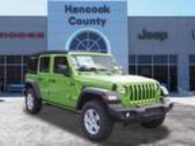 2018 Jeep Wrangler Unlimited Green, new