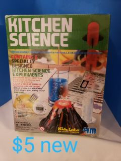 Kitchen science experiments kit