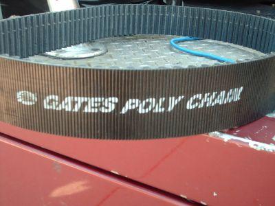 gates poly chain blower belt