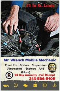 Mr Wrench Mobile Mechanic 1 In St. Louis