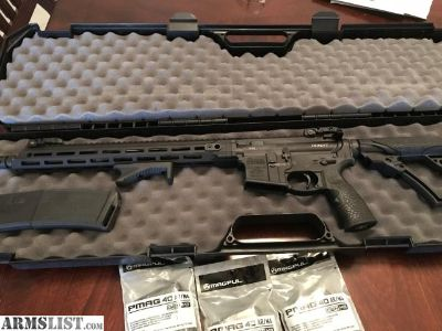 For Sale: Daniel Defense DDM4V7 AR-15 Brand New with extras