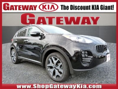 2019 Kia Sportage SX Turbo (Black Cherry)