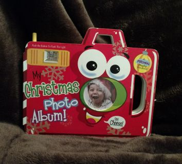 Camera Board bk. with Flash, & Pockets for Photos