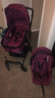 Urbini car seat and stroller