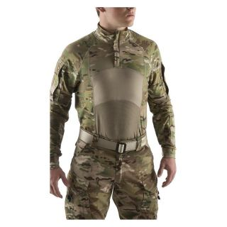 sekri army combat shirt acs type ii quarter zip multicam medium ocp scorpion 02631
