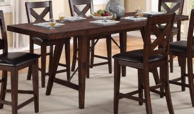 Classic Table and Chair Set w/ X-Back Chairs Set 5Pcs REDUCED