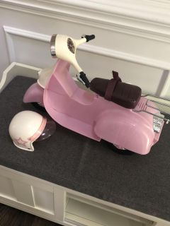 American Girl doll scooter