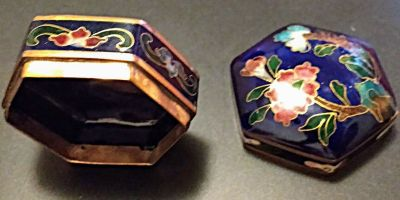 Vintage Trinket/Jewelry, Snuff Boxes