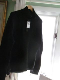 John Varvatos XL Men's Black Sweater