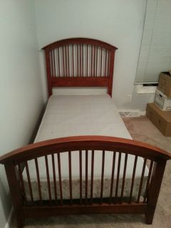 twin bed - wood frame only