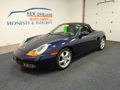 2001 Porsche Boxster Base (Cobalt Blue Metallic)