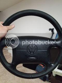 Mk3 VW DE Steering Wheel