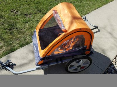 Instep double bike trailer. Used just a few times.