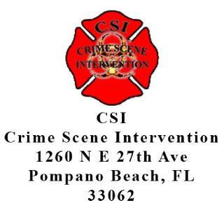 CSI Crime Scene Intervention