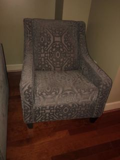 Cindy Crawford love seat and chair