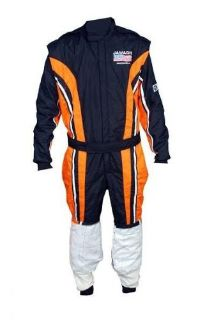 Buy SFI 3.2A/5 Mate finish woven NOMEX customized driving suit 2 layers Size XL motorcycle in Deltona, Florida, United States, for US $349.99
