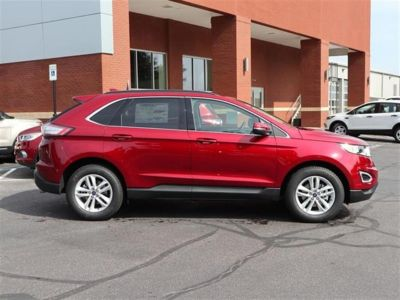 2018 Ford Edge SEL FWD (Red)
