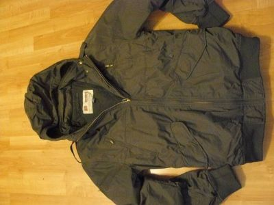 Mens Volcom Scout Large Olive Green Bomber