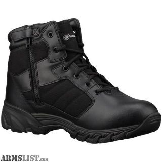 "For Sale: SMITH and WESSON BREACH 2.0 WATERPROOF SIDE ZIP 6"" MENS TACTICAL BOOT"