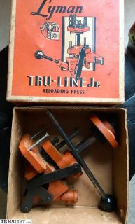 For Sale/Trade: Lyman Tru-Line Jr Reloading press