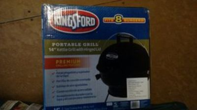 "14"" Kingsford portable grill"