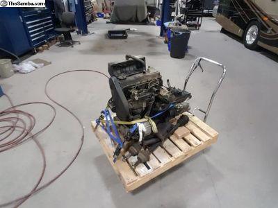 1.5L diesel engine with 4spd transmission