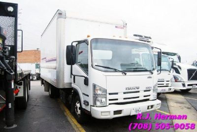 2012 Isuzu NPR 16ft Dry Van Straight Truck - (UNDER CDL)