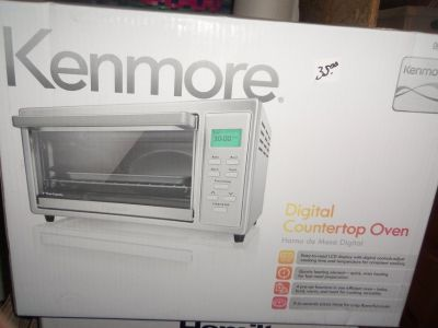 new kenmore toaster oven