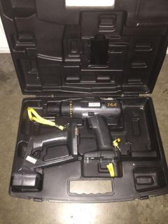 Like new 14.4V drill and flashlight. Comes with owners manual and hard case that s in great condition. Need battery and charger