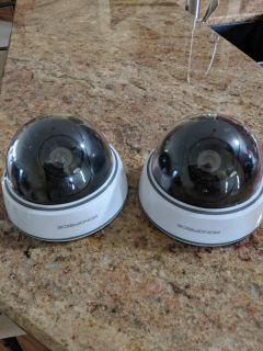 2 security camera eyeballs