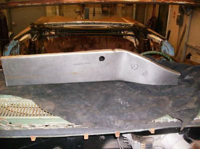 Sell 1959 59 Chevy Chevrolet Left trunk floor extension motorcycle in Columbia Station, Ohio, US, for US $119.59