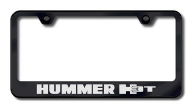 Find GM Hummer H3T Laser Etched License Plate Frame-Black Made in USA Genuine motorcycle in San Tan Valley, Arizona, US, for US $34.49
