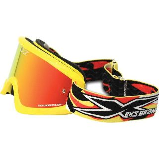 Find Canary Yellow/Red Mirror EKS X Brand GOX Limited Goggles motorcycle in San Bernardino, California, US, for US $39.99