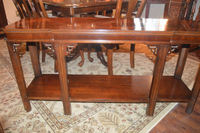 Antique Sofa Table Solid Wood
